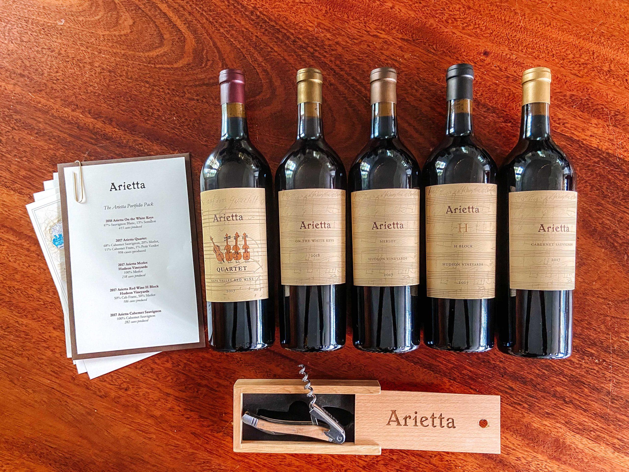 Arietta Portfolio Pack