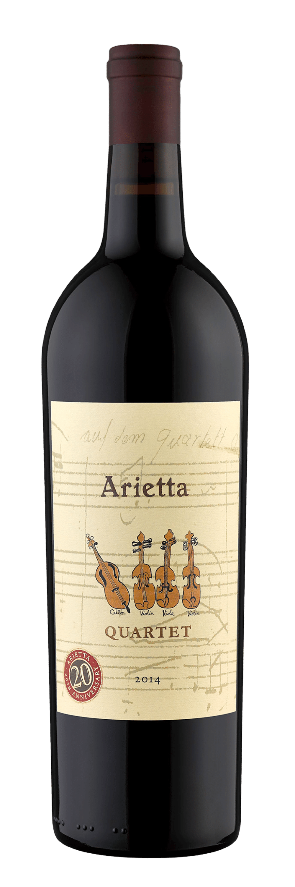 Arietta Red Wine Quartet 2014