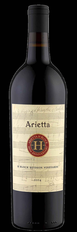 Arietta Red Wine H Block Hudson Vineyards 2014