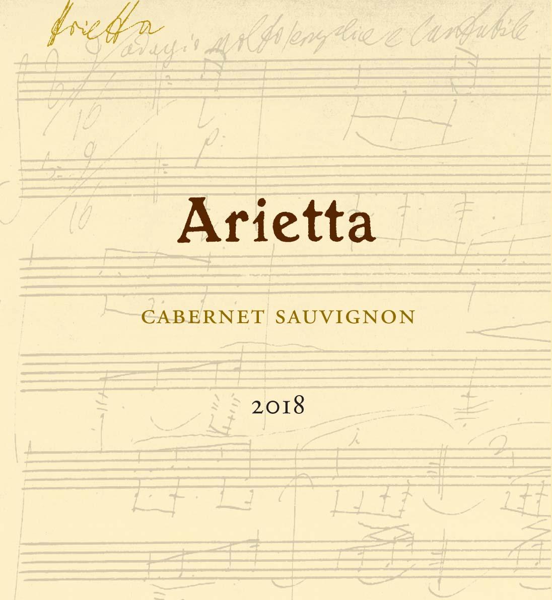 Arietta Winery Cabernet Sauvignon 2018