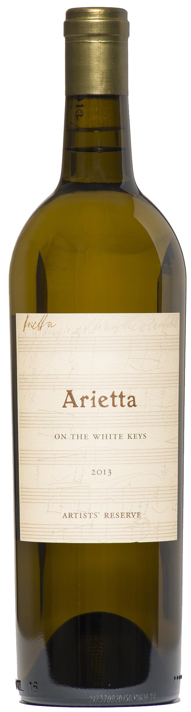 Arietta White Wine On the White Keys Artists Reserve 2013