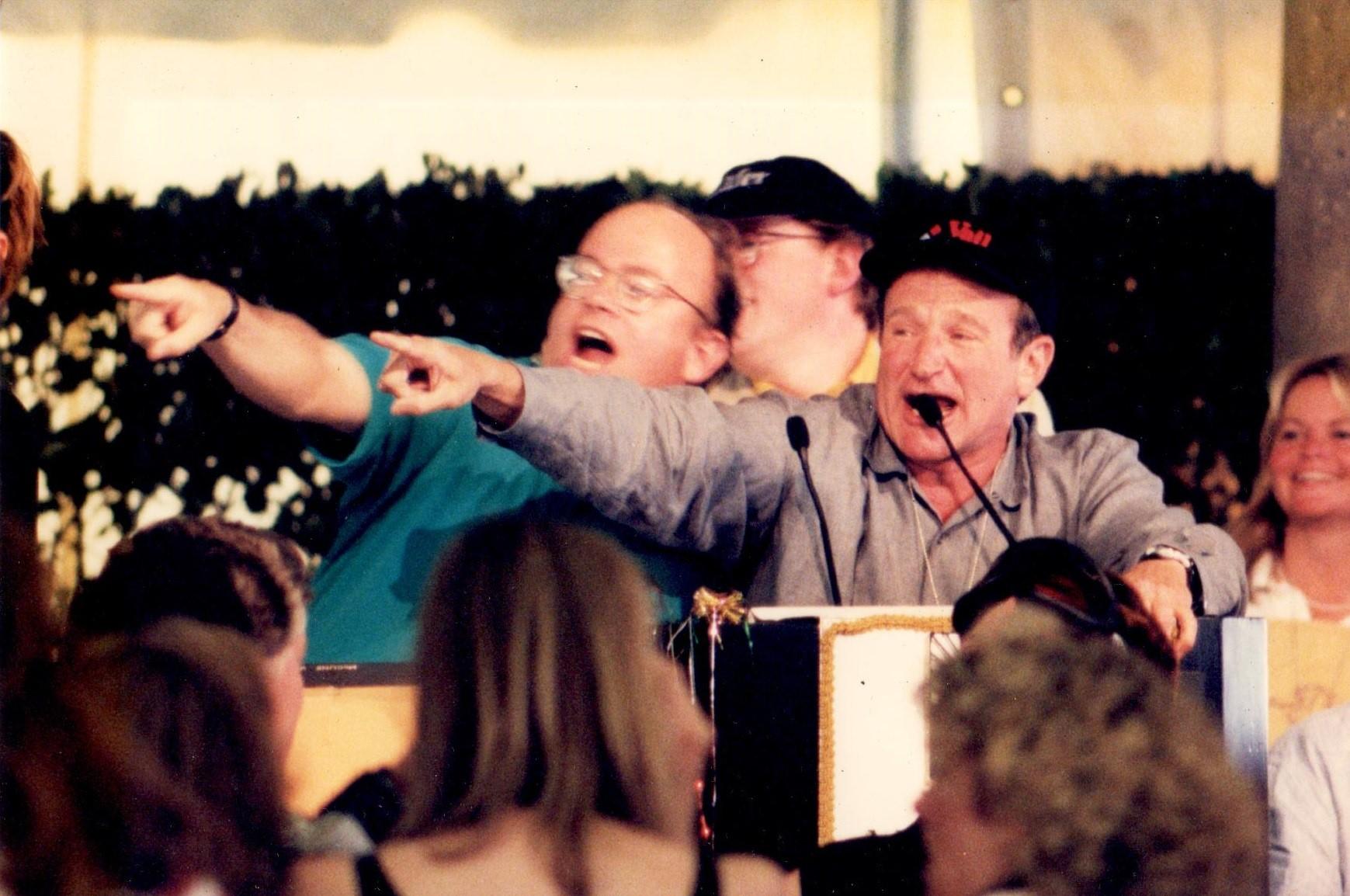 Fritz Hatton and Robin Williams