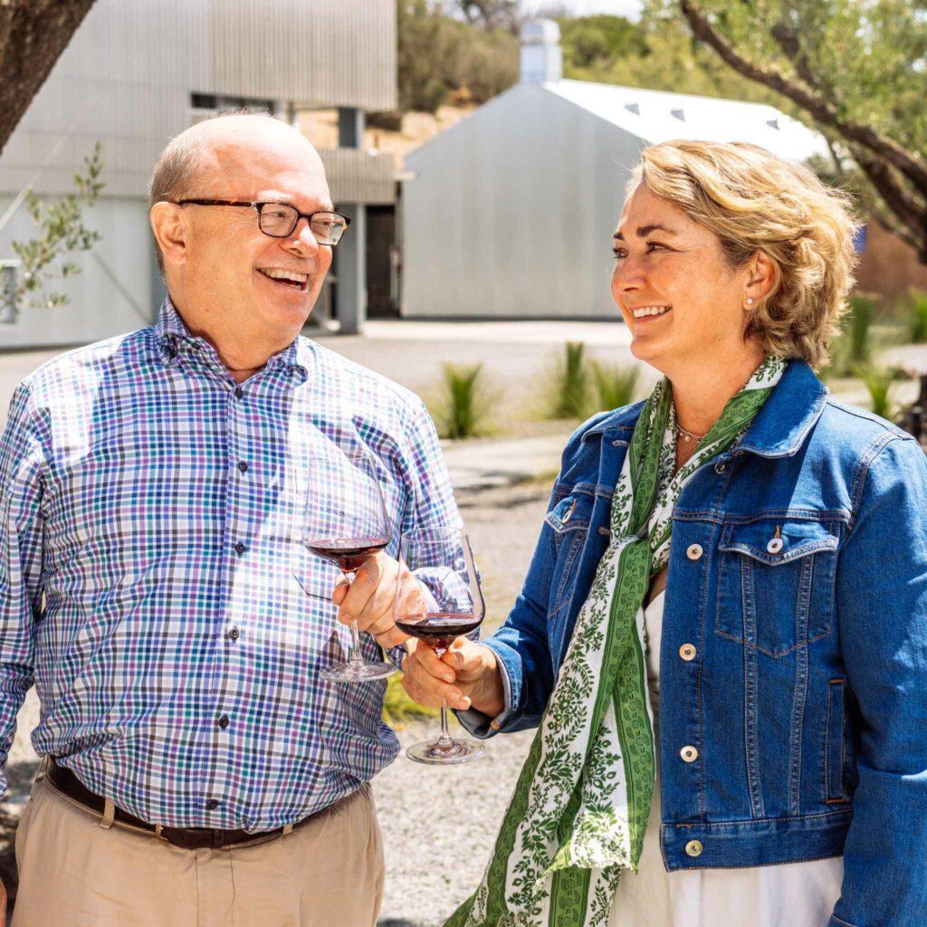 Arietta Wine Bordeaux-style blends - Proprietors Fritz and Caren Frutig Hatton