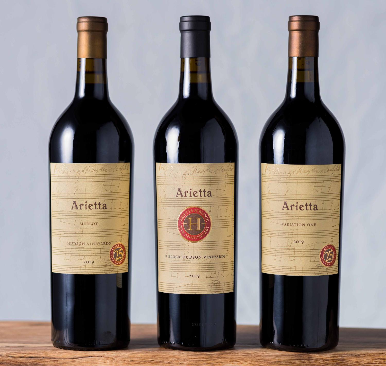 Arietta's 25th Anniversary Hudson Red Wines